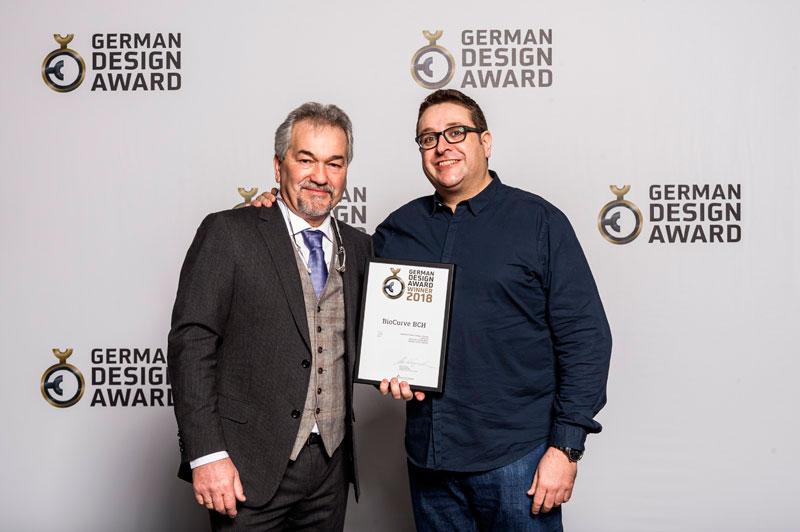 """Premio al """"Excelente diseño de producto Energía"""" en los German Design Award"""